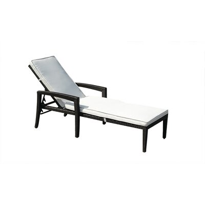Bellinzona Chaise Lounge with Cushion