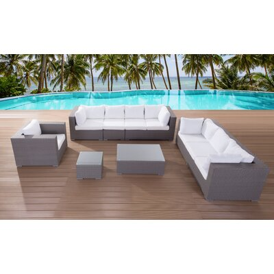 Maxima 5 Piece Deep Seating Group with Cushion