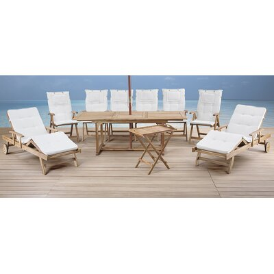 8 Piece Dining Set with Cushions