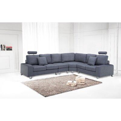 Modular Sectional Upholstery: Grey
