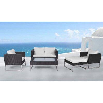 Garden Rattan Sofa Set Cushions - Product photo