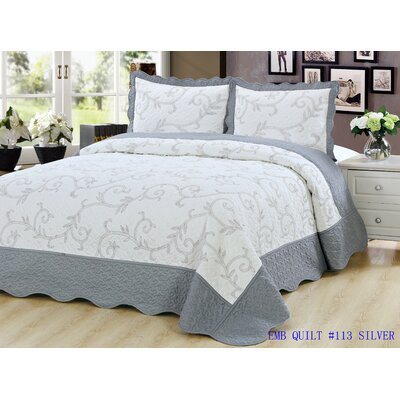 Sayreville 2 Piece Quilt Set Size: King