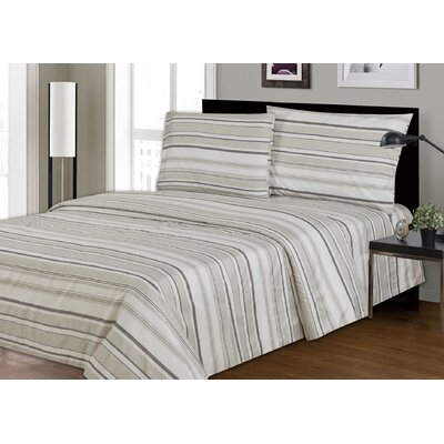 Couture 2200 Thread Count 100% Polyester 4 Piece Sheet Set Size: Full/Double