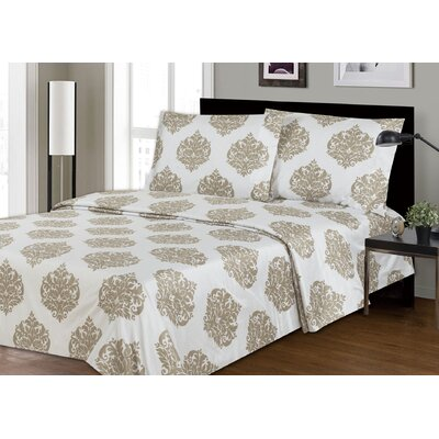 Couture 2200 Thread Count 100% Polyester Sheet Set Size: Queen