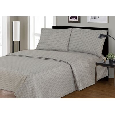 Couture 2200 Thread Count 100% Polyester 4 Piece Sheet Set Size: Twin