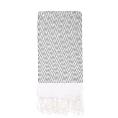 Generre Beach Towel Color: Gray