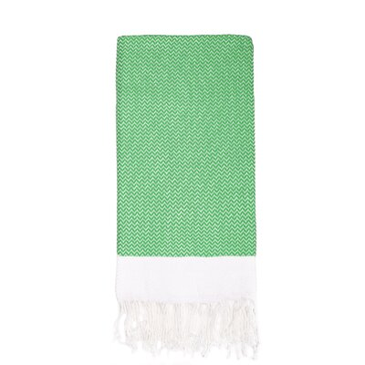 Generre Beach Towel Color: Green