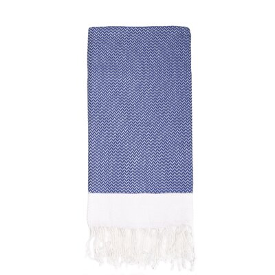 Generre Beach Towel Color: Navy
