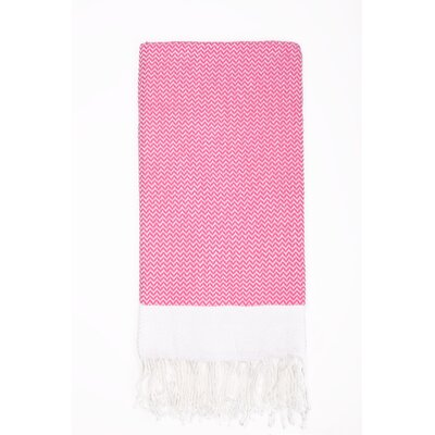 Generre Beach Towel Color: Pink