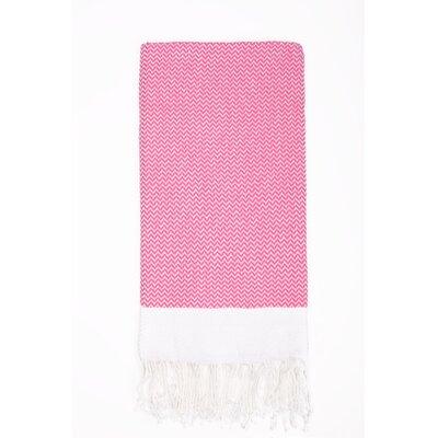 Generre Beach Towel Color: Pink