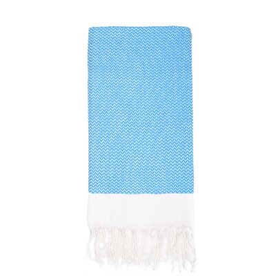 Generre Beach Towel Color: Turquoise