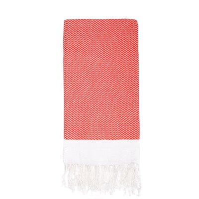 Generre Beach Towel Color: Red