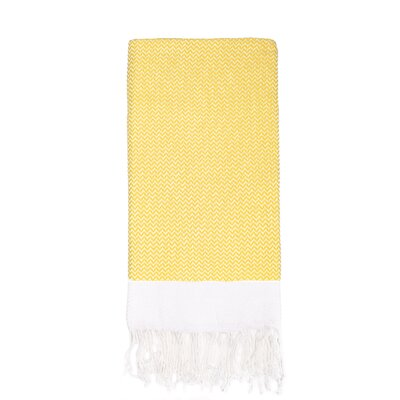 Generre Beach Towel Color: Yellow