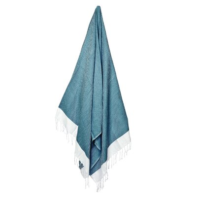 Generre Beach Towel Color: Teal