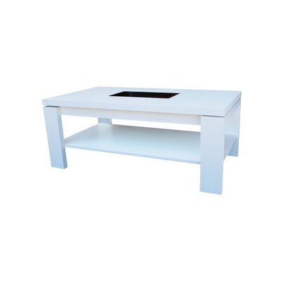 Daniels Coffee Table with Lift Top Finish: Polar