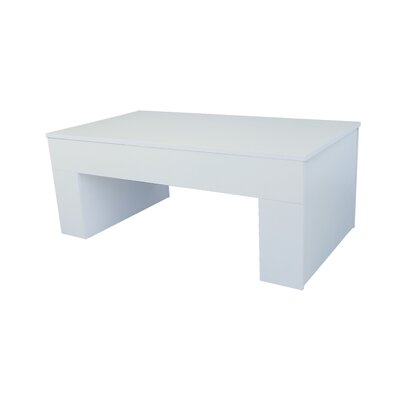 Daugherty Lift Top Coffee Table Color: Polar