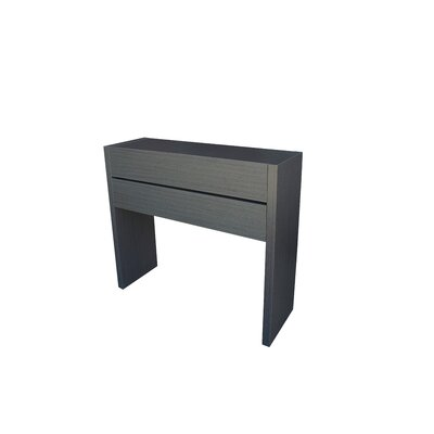 Oden Console Table and Mirror Set Finish: Ash