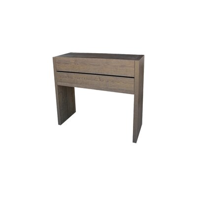 Oden Console Table and Mirror Set Finish: Natur