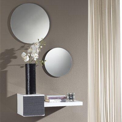 Defino Floating Shelf Finish: Grey/White