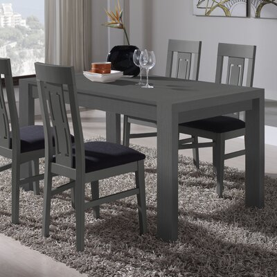 Bacchus Extendable Dining Table Finish: Ash