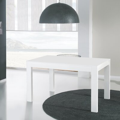 Herod Extendable Dining Table Finish: White