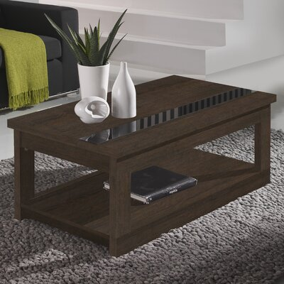 Tibbits Coffee Table with Lift Top Color: Natur