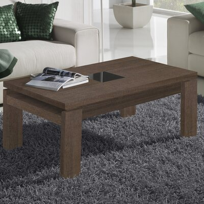 Tiedeman Coffee Table with Lift Top Color: Natur