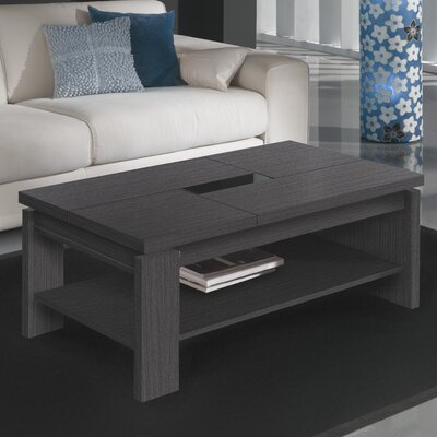 Tieman Coffee Table with Lift Top Color: Ash