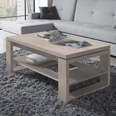 Davian Coffee Table with Lift Top Color: Eco