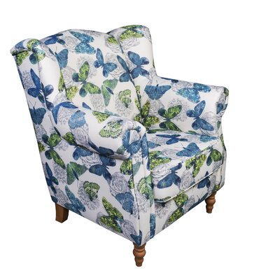 Juliette Butterfly Wingback Chair