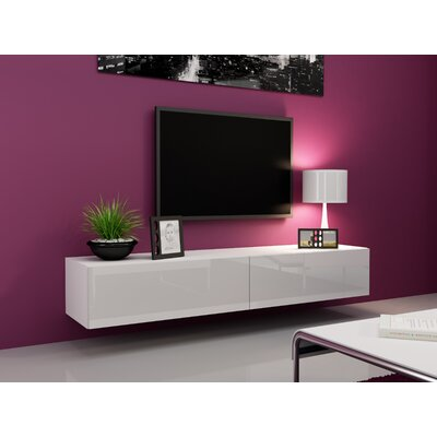 Birte 70.9 TV Stand Color: White
