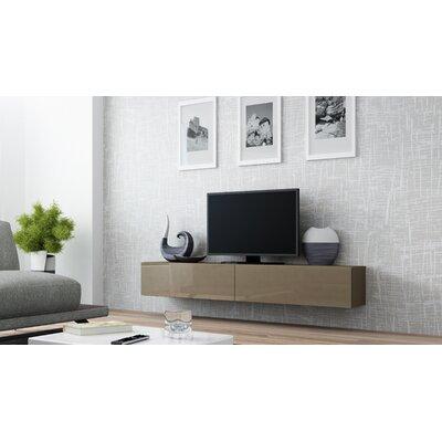 Birte 70.9 TV Stand Color: Latte