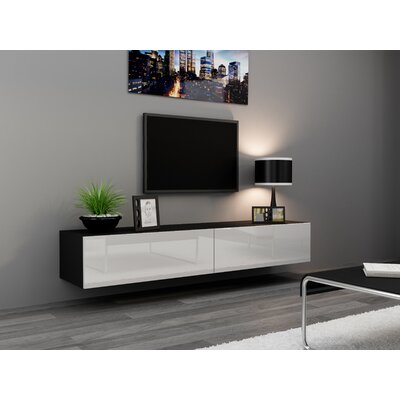 Birte 70.9 TV Stand Color: Black/White