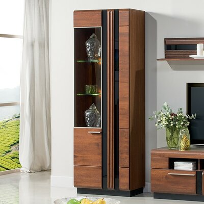 Dashrath 2 Door Standard China Cabinet
