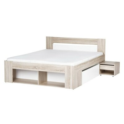 Duren Queen Platform Bed with Mattress