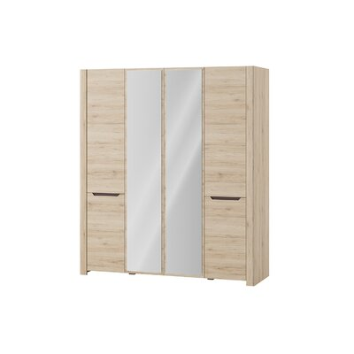 Estrada 4 Door Wardrobe Armoire