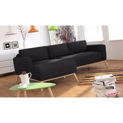 Ronny Sofa Sectional Orientation: Left Hand Facing