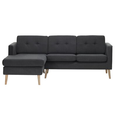 Fletcher Sectional Sofa Orientation: Left Corner
