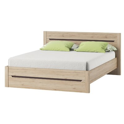 Hopedale Queen Platform Bed with Mattress