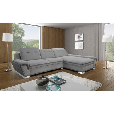 Donecia� Mini Sleeper Sectional Orientation: Right Hand Facing