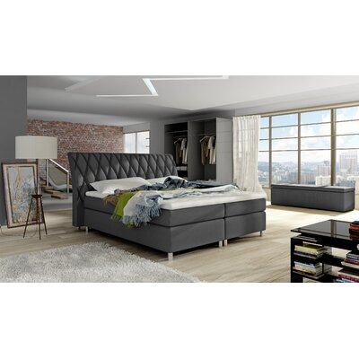 Timmy Upholstered Panel Bed with Mattress Size: Queen