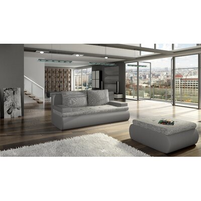 Sartor Reclining Sofa Bed Upholstery: Gray
