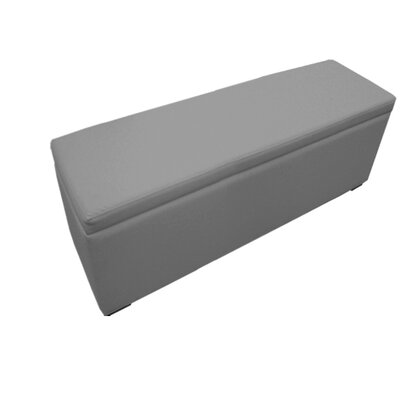 Roberson Ottoman Upholstery : Gray