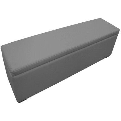 Rocha Storage Ottoman Upholstery : Gray