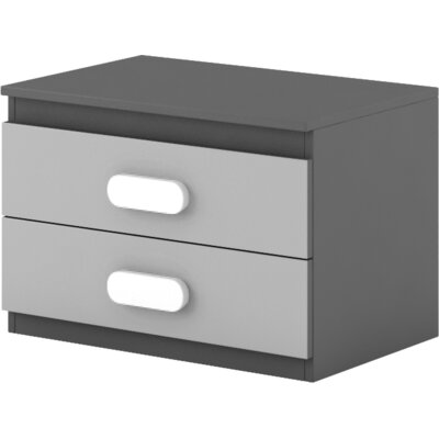 Cannella 2 Drawer Nightstand