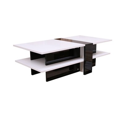 Scorpius Coffee Table Color: White
