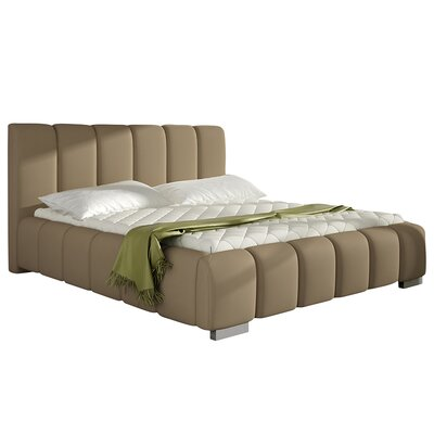 Soma Upholstered Platform Bed with Mattress Size: King