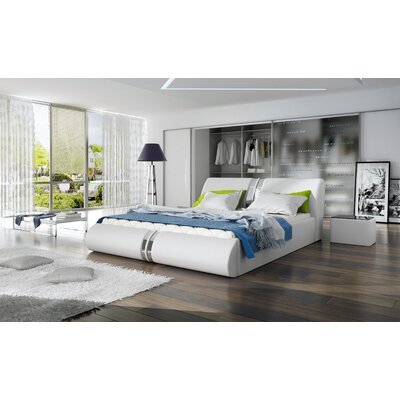 Tatianina Upholstered Platform Bed Size: King