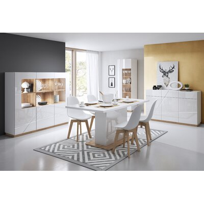 Venatici Dining Table with Extension