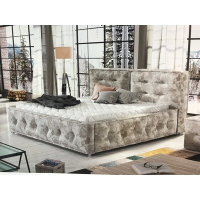 Gheorghita Upholstered Platform Bed Size: King